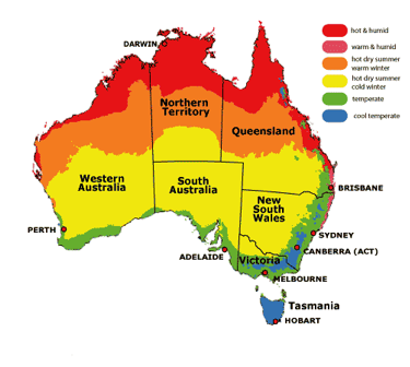 australia-weather-map