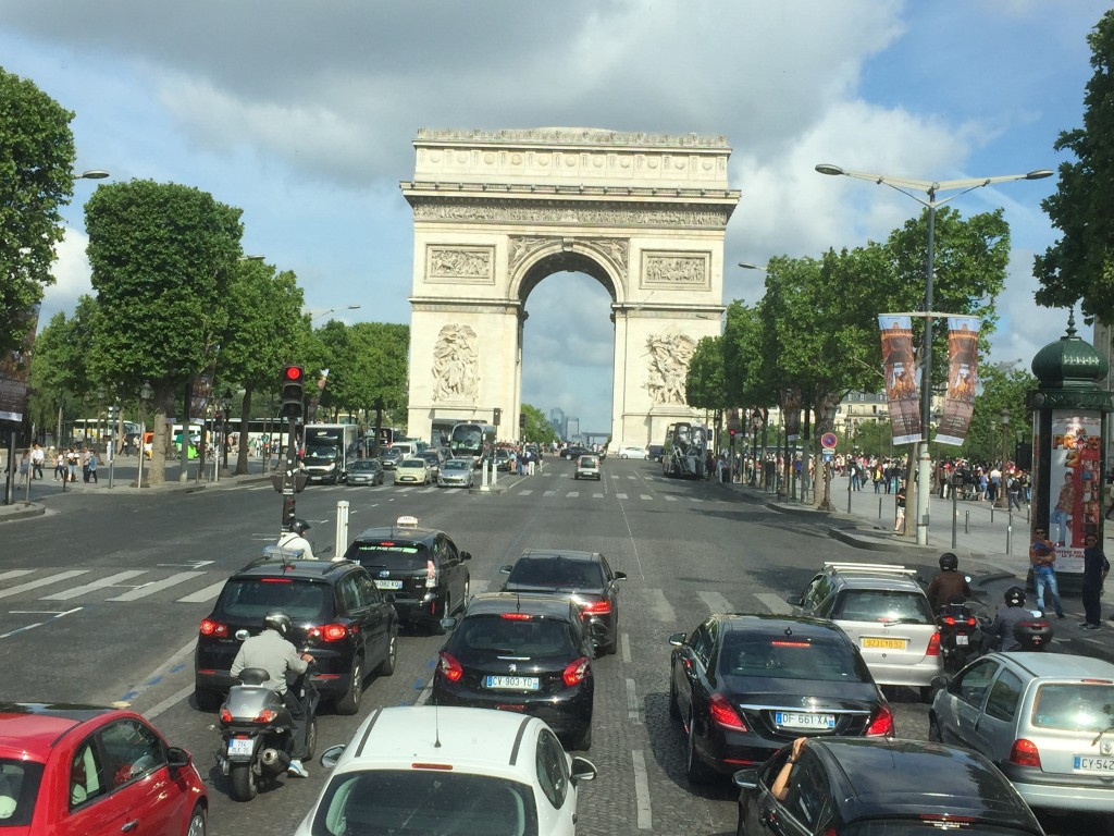 7. This Arc is very famous in a large capital city in Europe. What is it called?
