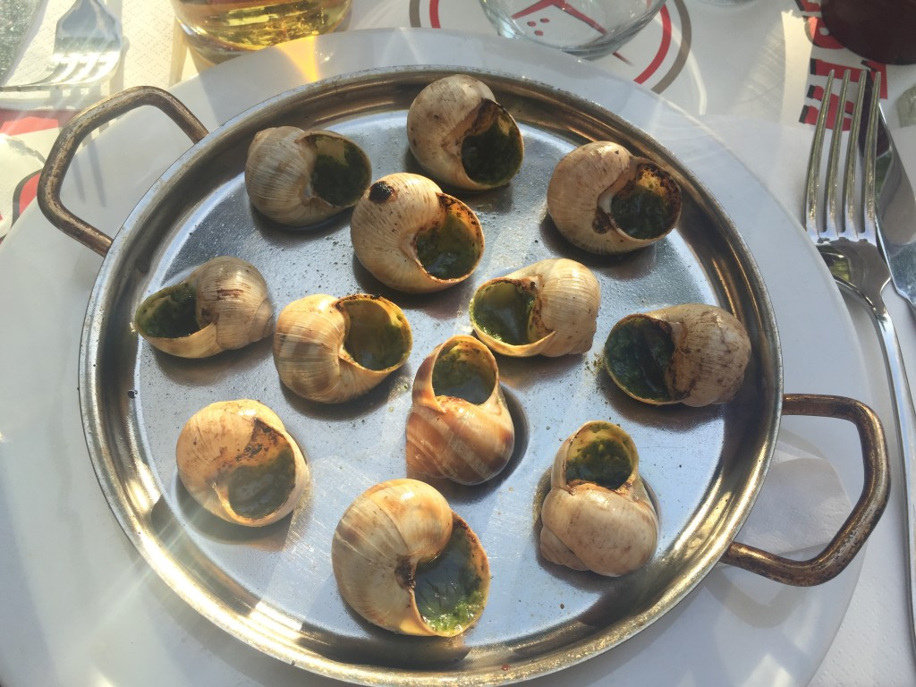8. This is a popular food eaten in France. What is it?