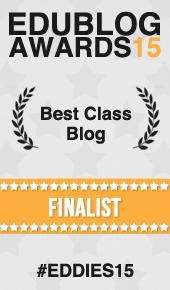 Best Class Blog Finalist 2015